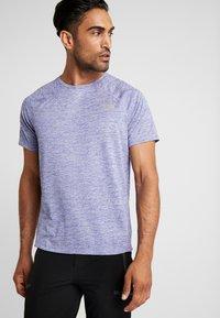 The North Face - AMBITION  - T-shirt print - blue/montague blue - 0