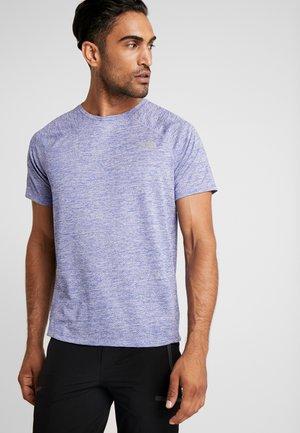 AMBITION  - Print T-shirt - blue/montague blue