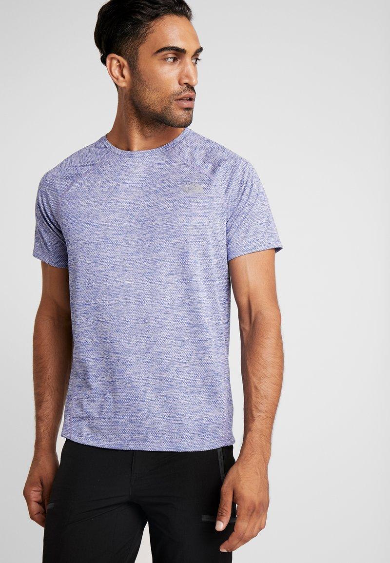 The North Face - AMBITION  - T-shirt print - blue/montague blue