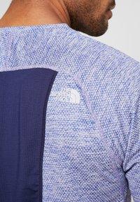 The North Face - AMBITION  - T-shirt print - blue/montague blue - 4