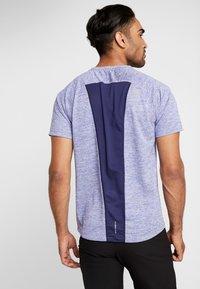 The North Face - AMBITION  - T-shirt print - blue/montague blue - 2