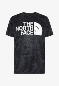 The North Face - MENS REAXION EASY TEE - T-shirt imprimé - asphalt grey grunge - 3