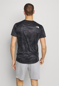 The North Face - MENS REAXION EASY TEE - T-shirt imprimé - asphalt grey grunge - 2