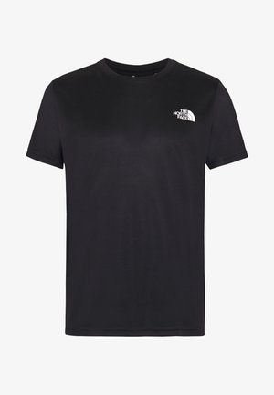 MENS REAXION BOX TEE - Print T-shirt - black
