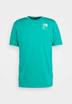MENS GLACIER TEE - T-shirt imprimé - jaiden green