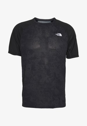 MENS AMBITION - Print T-shirt - dark grey/black