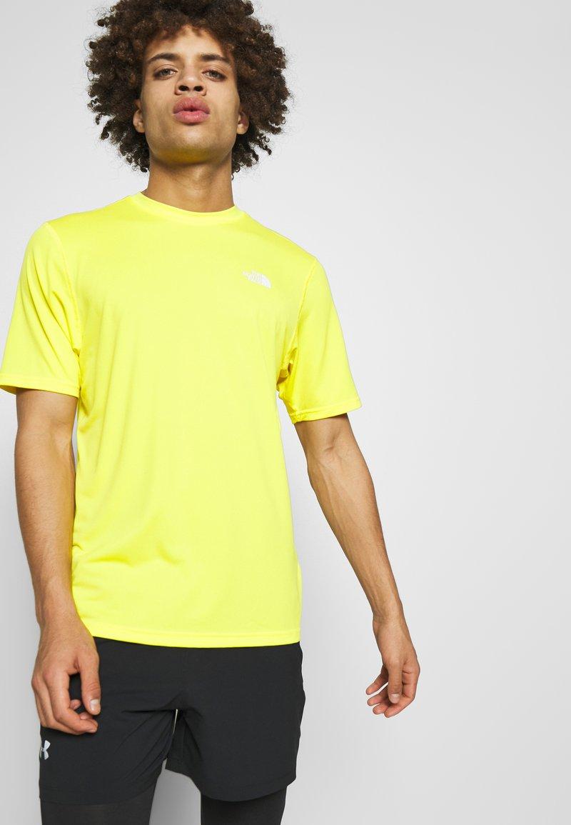 The North Face - MEN'S FLEX II - T-shirt con stampa - lemon