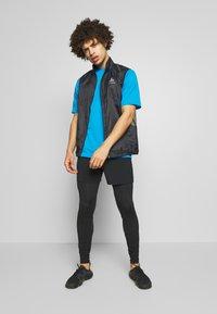 The North Face - MEN'S FLEX II - Print T-shirt - clear lake blue - 1