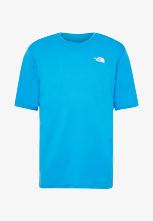 MEN'S FLEX II - Print T-shirt - clear lake blue