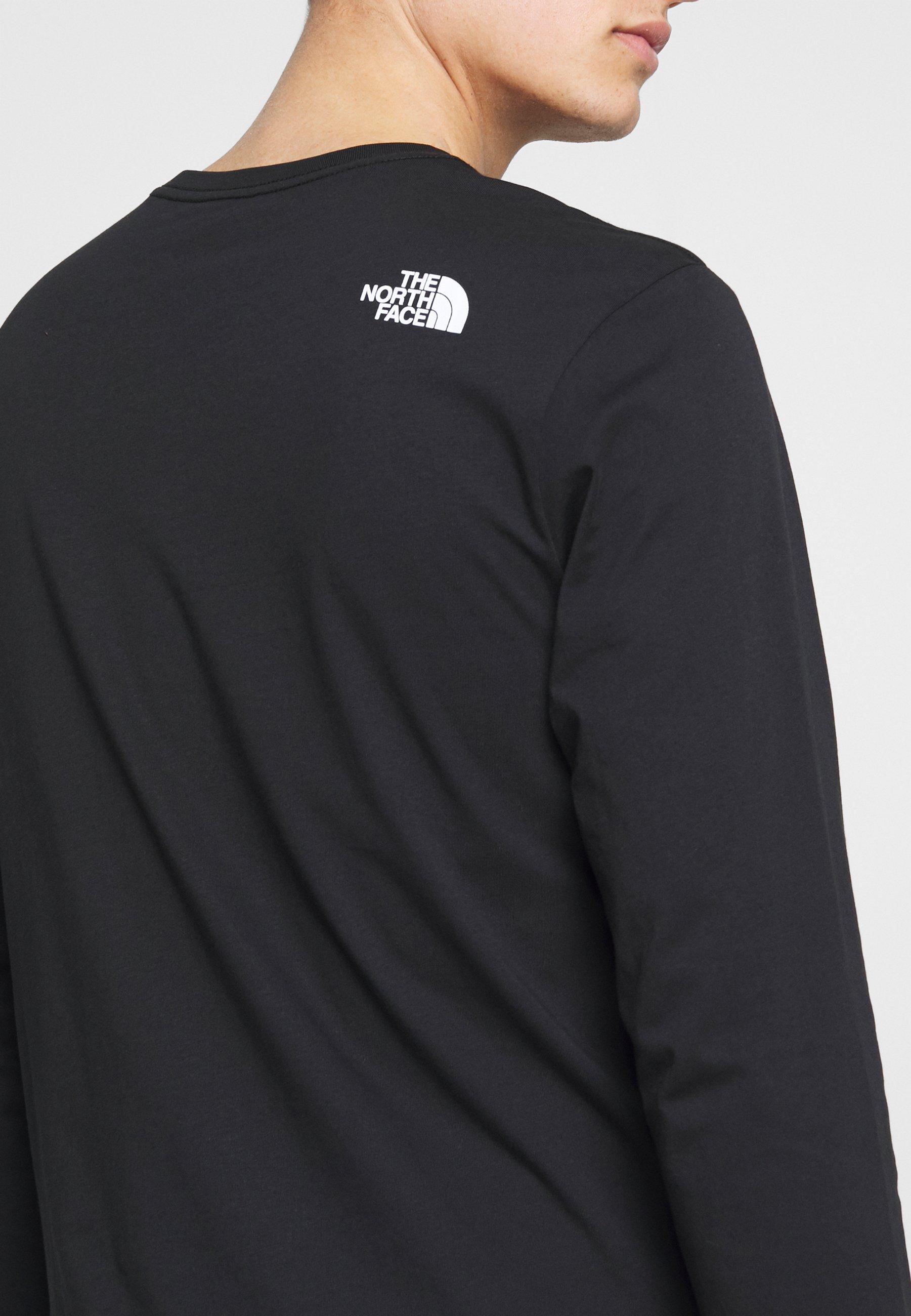 The North Face Mens Graphic Tee - Maglietta A Manica Lunga Black/white MadY9