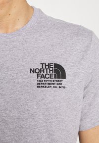 The North Face - MENS GRAPHIC TEE - Print T-shirt - light grey heather - 5