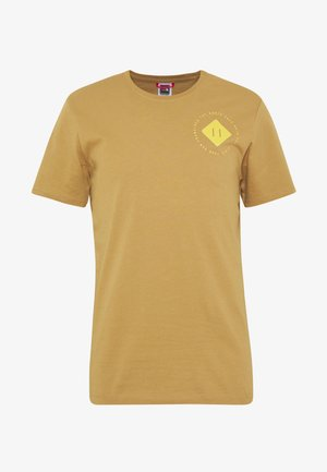 MENS GRAPHIC TEE - T-shirt med print - british khaki