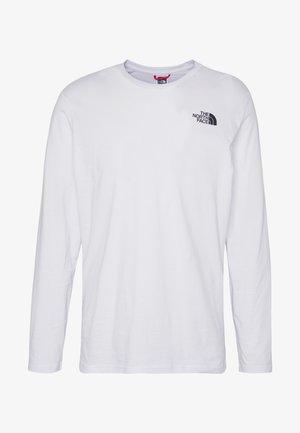 MENS TEE - Long sleeved top - white