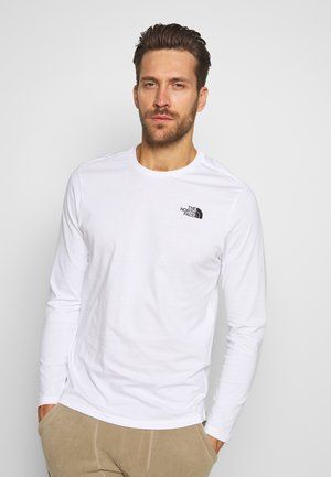 MENS TEE - Long sleeved top - white