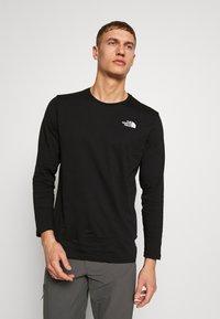 The North Face - MENS TEE - Bluzka z długim rękawem - black - 2