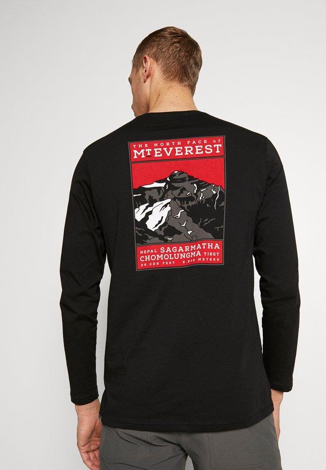 MENS TEE - Langærmede T-shirts - black