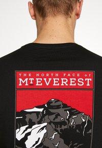 The North Face - MENS TEE - Bluzka z długim rękawem - black - 5