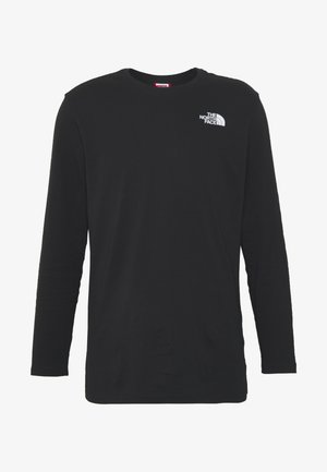 FACES TEE - Long sleeved top - black