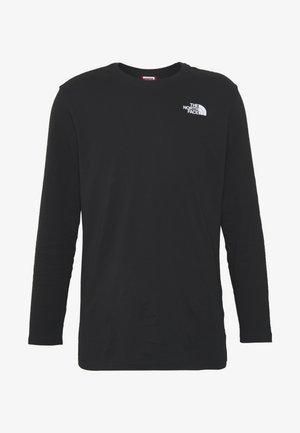 MENS TEE - Camiseta de manga larga - black