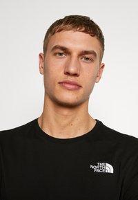 The North Face - MENS TEE - Bluzka z długim rękawem - black - 3