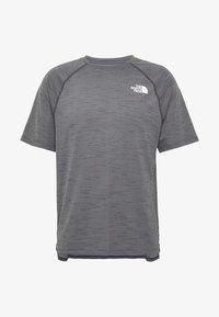The North Face - MEN'S ACTIVE TRAIL - T-shirt imprimé - dark grey heather - 4