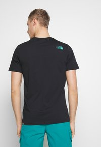 The North Face - MEN'S RUST TEE - Print T-shirt - black - 2