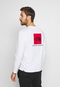 The North Face - MENS BOX TEE - Longsleeve - white - 2