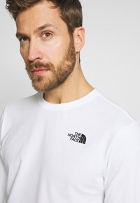 The North Face - MENS BOX TEE - Longsleeve - white - 4