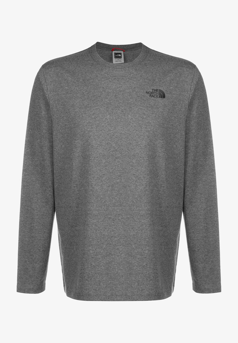 The North Face - MENS BOX TEE - Bluzka z długim rękawem - medium grey