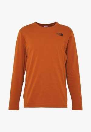 MENS BOX TEE - Long sleeved top - caramel cafe