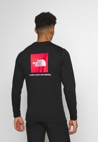 The North Face - MENS BOX TEE - Long sleeved top - tnf black - 2