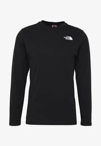 The North Face - MENS BOX TEE - Long sleeved top - tnf black - 5