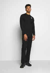 The North Face - MENS BOX TEE - Long sleeved top - tnf black - 1