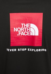 The North Face - MENS BOX TEE - Long sleeved top - tnf black - 4