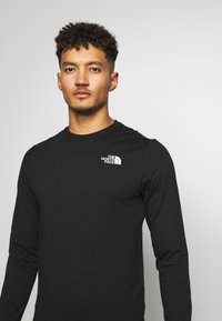 The North Face - MENS BOX TEE - Long sleeved top - tnf black - 3