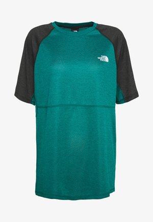 MENS VARUNA TEE - Camiseta estampada - teal