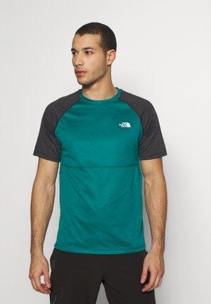 MENS VARUNA TEE - T-shirt z nadrukiem - teal