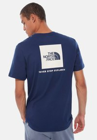 The North Face - BOX TEE - Print T-shirt - royal blue - 1