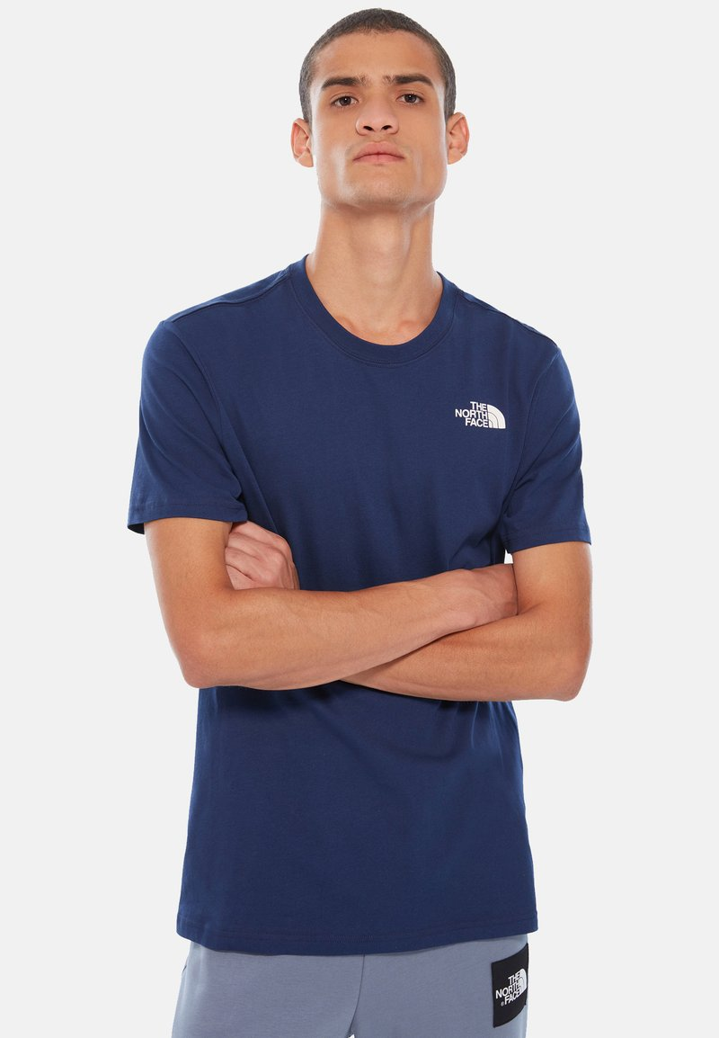 The North Face - BOX TEE - Print T-shirt - royal blue