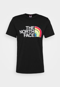 The North Face - RAINBOW TEE - T-shirts print - black - 4