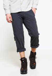 The North Face - EXPLORATION CONVERTIBLE PANT - Pantalones montañeros largos - asphalt grey