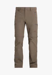 The North Face - EXPLORATION CONVERTIBLE PANT - Outdoor trousers - weimaraner brown - 5