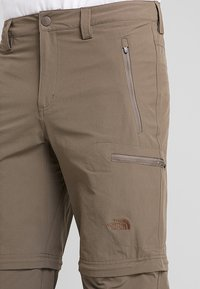 The North Face - EXPLORATION CONVERTIBLE PANT - Outdoor trousers - weimaraner brown - 4