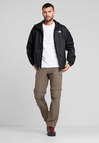 The North Face - EXPLORATION CONVERTIBLE PANT - Outdoor trousers - weimaraner brown - 1
