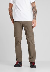 The North Face - EXPLORATION CONVERTIBLE PANT - Outdoor trousers - weimaraner brown - 2