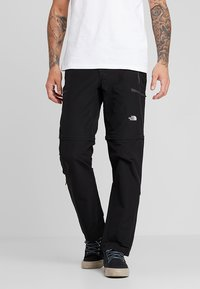 The North Face - EXPLORATION CONVERTIBLE PANT - Outdoorové kalhoty - black - 0