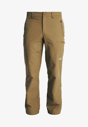 EXPLORATION - Outdoor trousers - british khaki