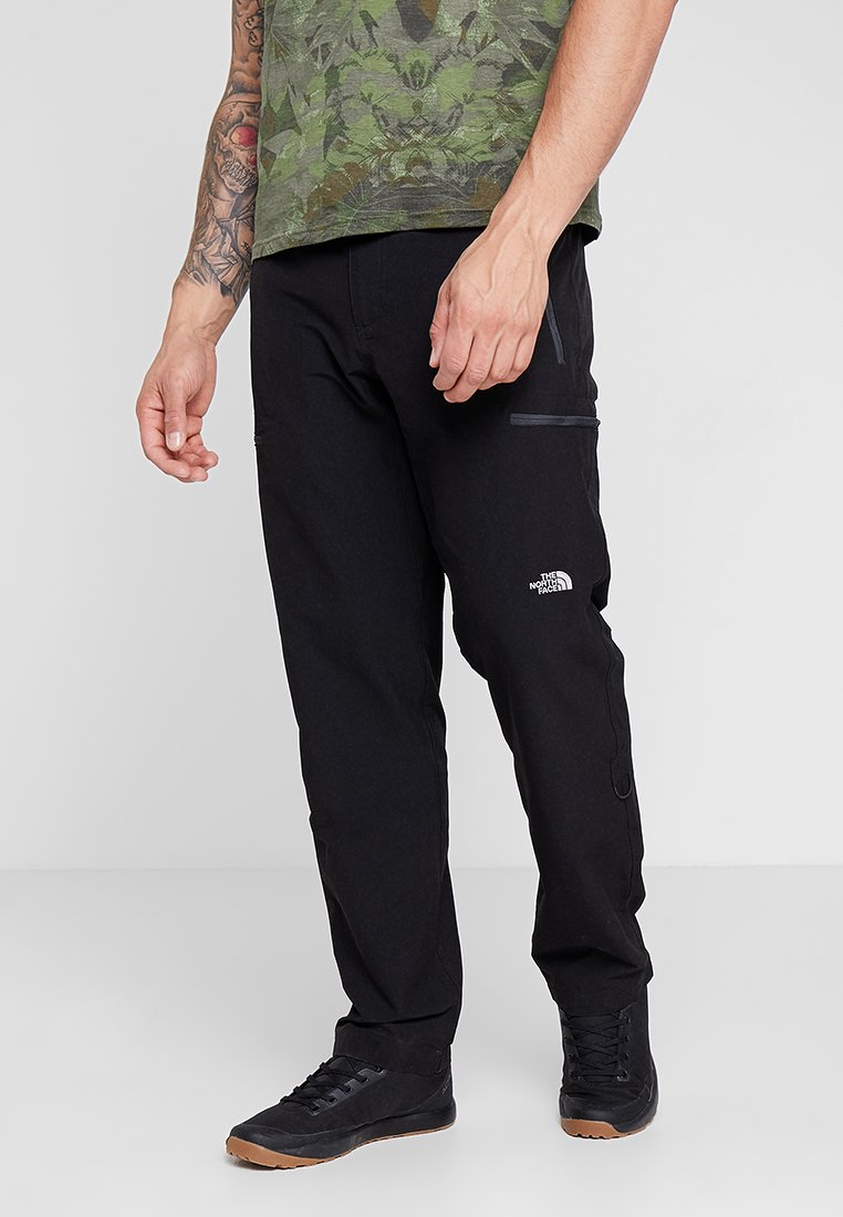 The North Face - EXPLORATION - Pantalones montañeros largos - black