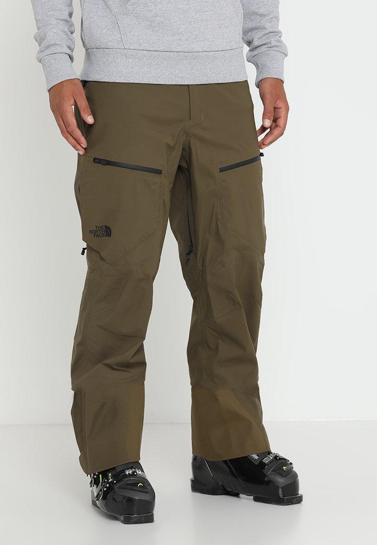 The North Face - STEEP SERIES PURIST PANT - Zimní kalhoty - beech green