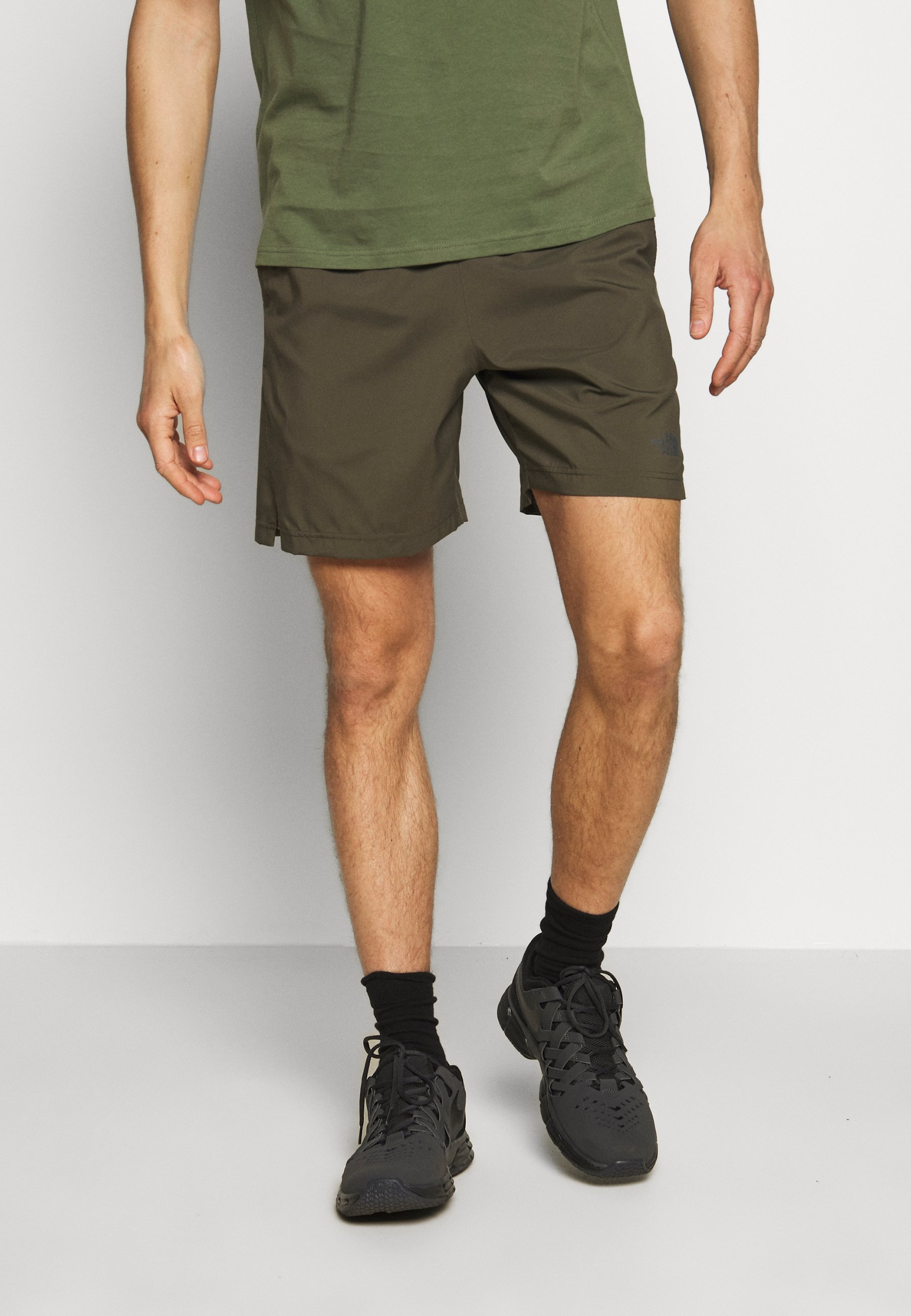 The North Face 24/7 SHORT - Träningsshorts - new taupe green